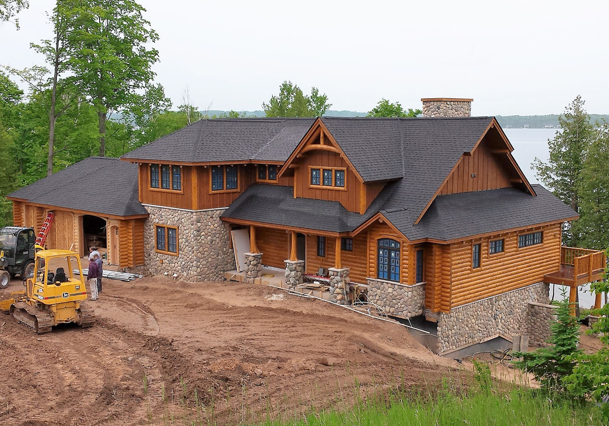Charlevoix County Home Builders in Northern Michigan
