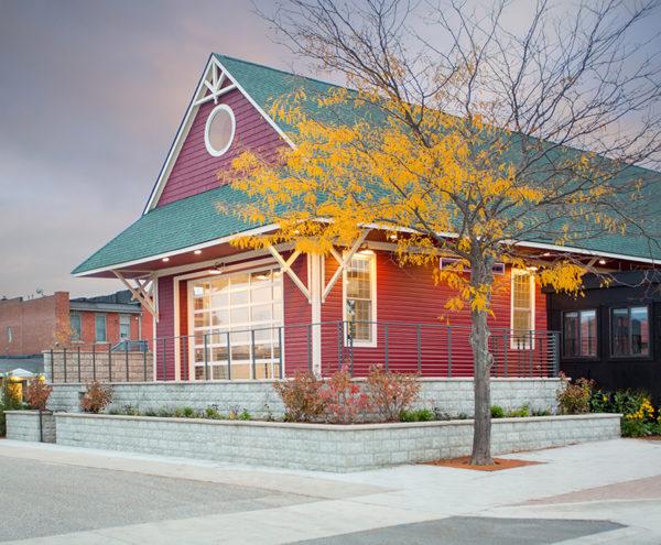 From Train Depot to Art Studio