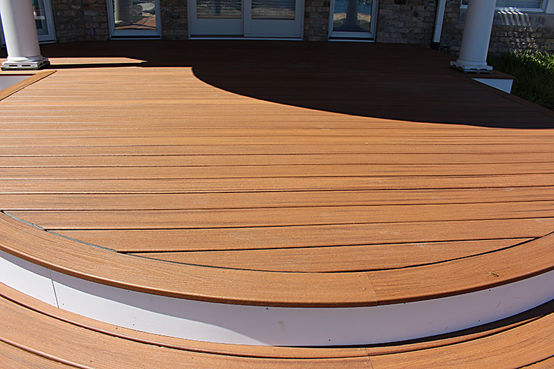 Curved Deck Builders in Michigan